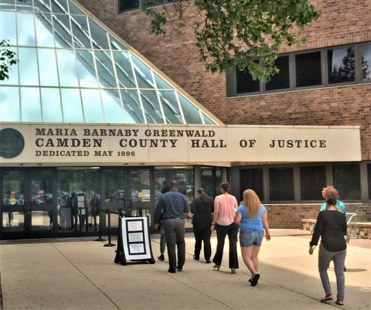 A former judge in Superior Court, Camden, has lost his pension as a result of a conviction for a sex offense involving a child.