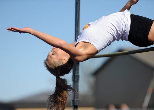 Unioto hosted a dual track meet against Chillicothe Tuesday night at Unioto High School with both Unioto's boys and girls taking top spots on April 9, 2019.
