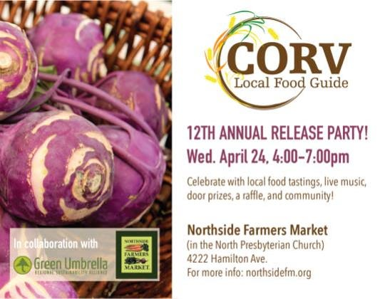 Northside Farmers Market is hosting a release party for its annual local food directory.