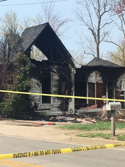 An early morning house fire was reported in Grant County on April 10, 2019.
