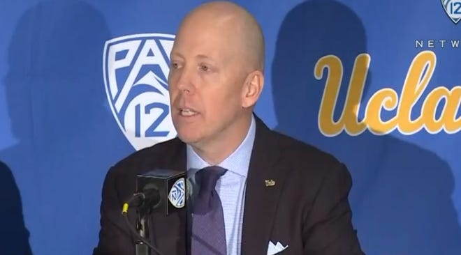 Mick Cronin during his introductory press conference.