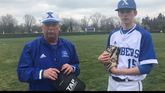 St. Xavier pitching coach Denny Ehrhardt has brought lessons learned in Texas to Cincinnati and his Bombers pitching staff.