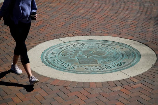 The Miami University seal, April 9, 2019.