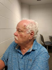 Paul Koren is pictured following a home invasion robbery that left him bruised and battered.