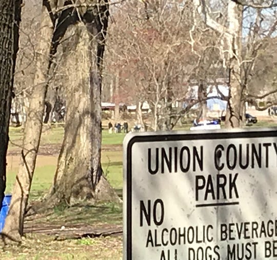 The Union County Homicide Task Force has responded to Green Brook Park for a report of a shooting.