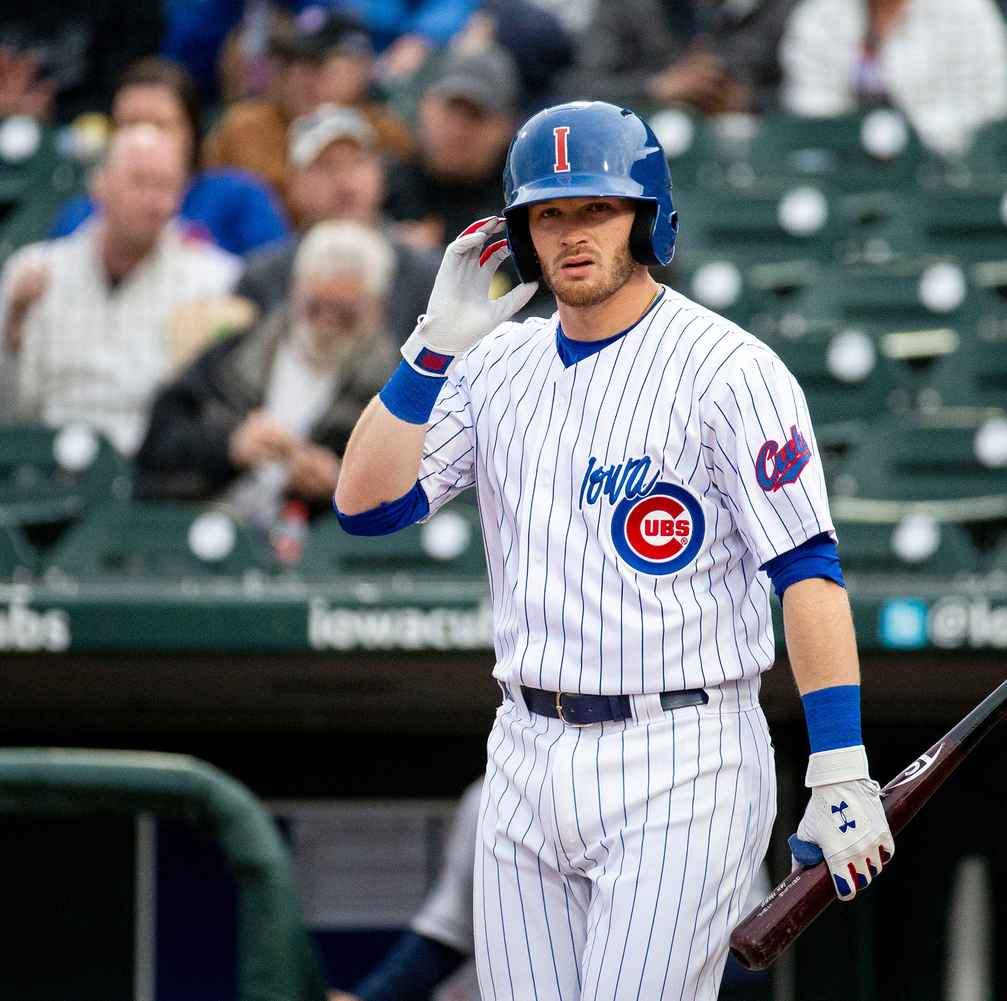 Limiting strikeouts is Ian Happ's point of emphasis after demotion to Iowa Cubs