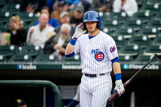 Ian Happ has shown signs that he's progressed at the plate.