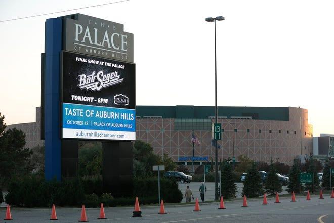 The Palace of Auburn Hills in Auburn Hills, Saturday, September 23, 2017.