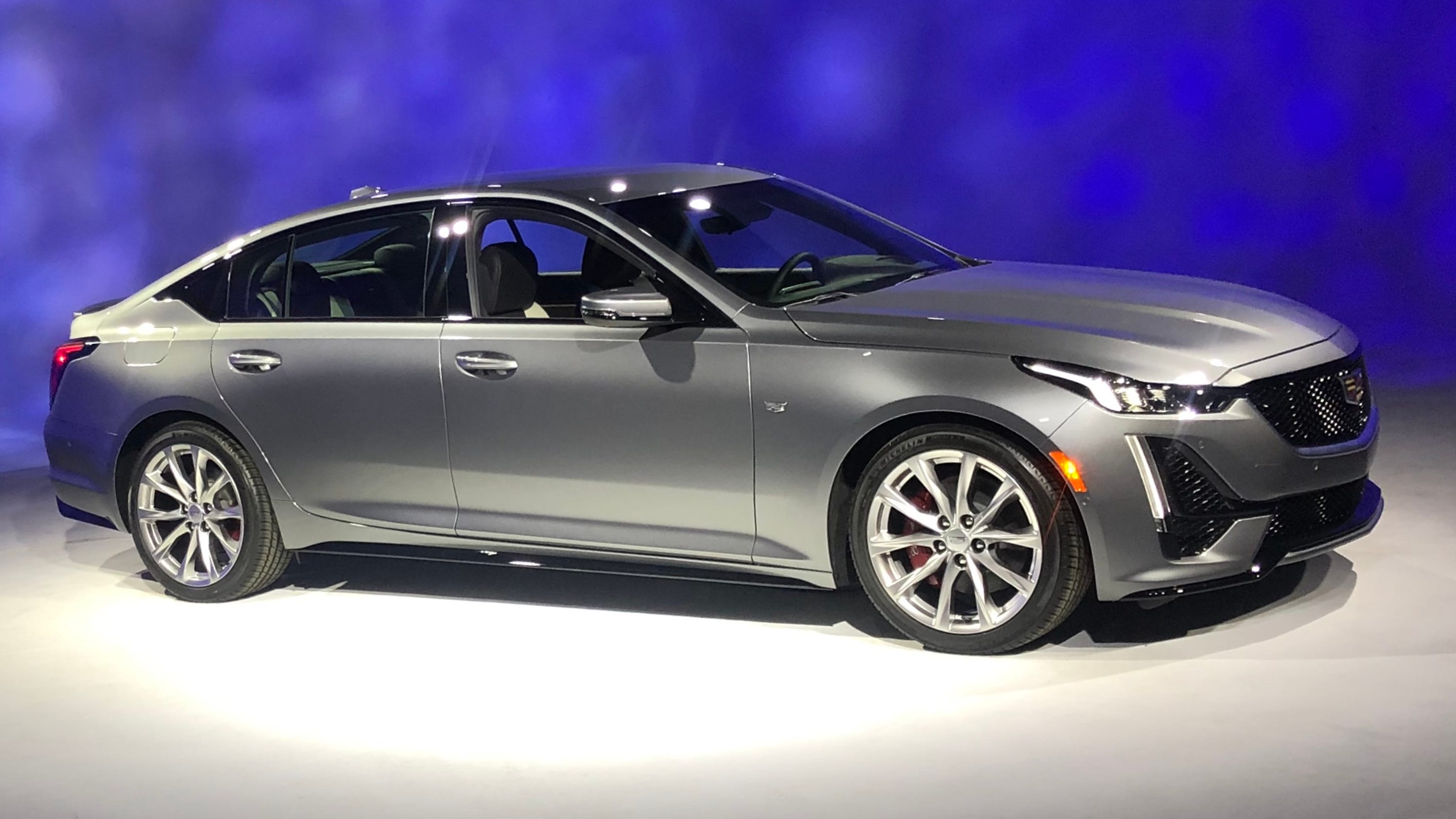 2020 Cadillac Ct5 Sedan Revealed At New York Auto Show