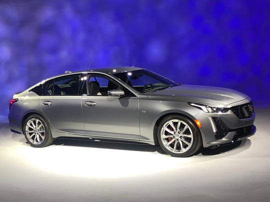 The 2020 Cadillac CT5 sport version revealed April 16, 2019. It goes on sale in the fall, but Cadillac is not releasing the price yet.