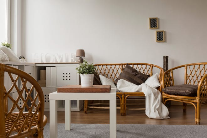 Think neutral colors, natural elements and interesting textures when designing an organic modern home. (Dreamstime)