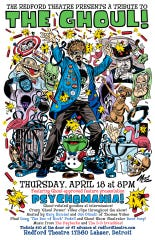 A poster for a tribute event for the Ghoul set for April 18 at the Redford Theatre.