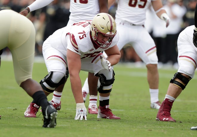 A four-year starter who has played both guard and center at Boston College, Chris Lindstrom possesses elite athleticism that could help the Lions fill the void left by T.J. Lang's retirement.
