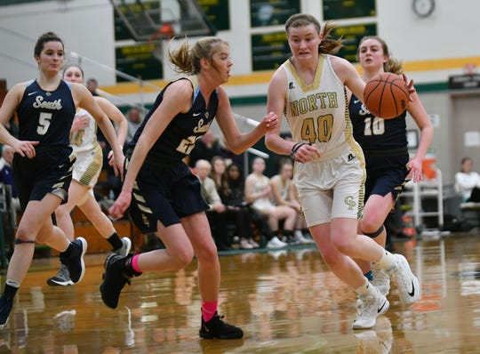 Grosse Pointe North senior Julia Ayrault averaged 20 points, nine rebounds, 4.4 steals, four blocks and 3.4 assists this season. Ayrault will be playing next year at Michigan State.