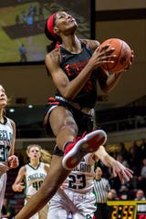 Detroit Edison's Rickea Jackson, who is headed to Mississippi State, averaged 22.1 points and 8.1 rebounds during her senior year.