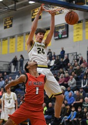 Clarkston's Matt Nicholson, a 7-foot junior, averaged 13.6 points, 12.6 rebounds and 5.2 blocks while shooting 57.2 percent from the field.