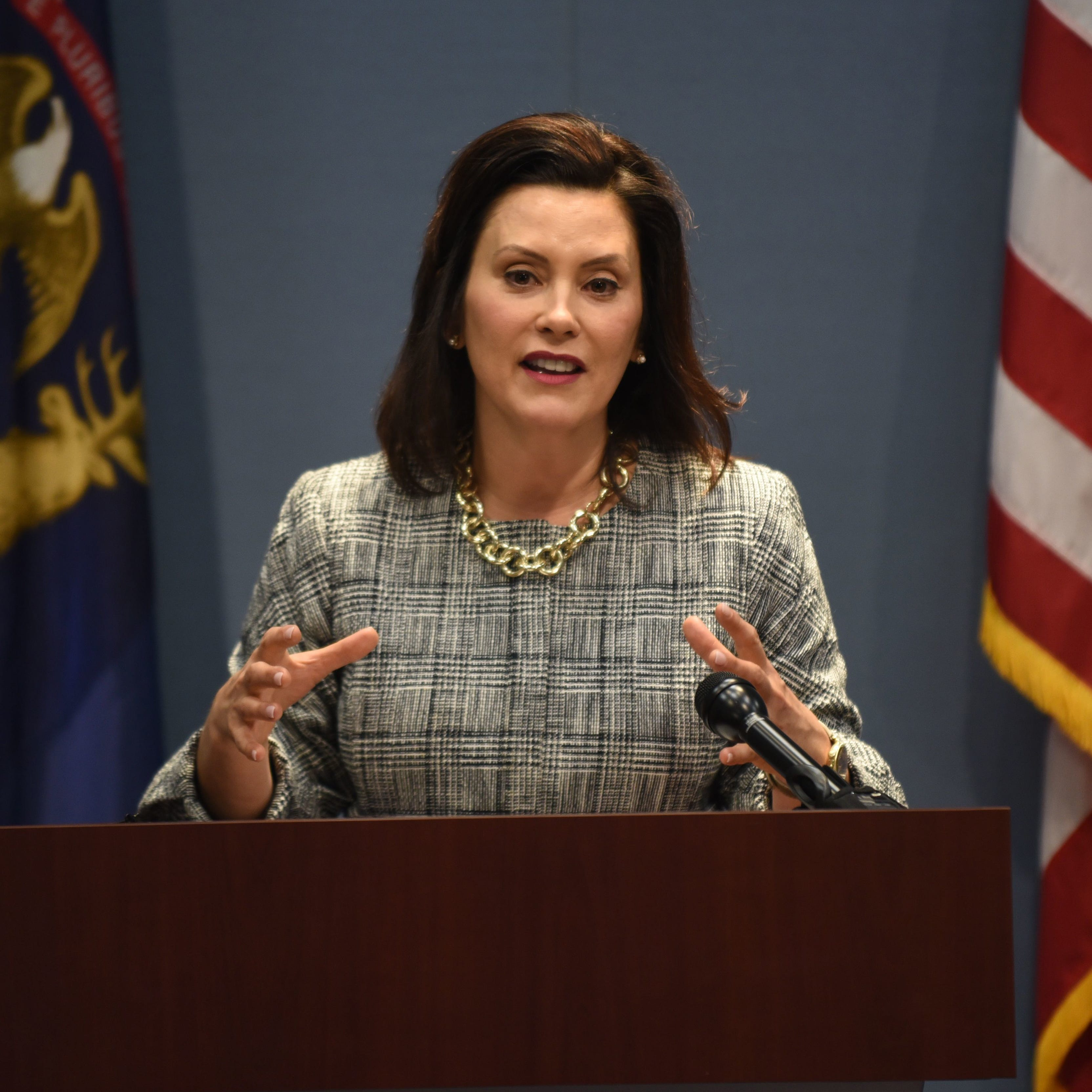 Whitmer: I won't be 'bullied' on auto insurance