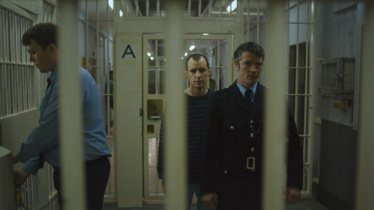 "Tom Vaughan-Lawlor and Barry Ward in ""Maze."""