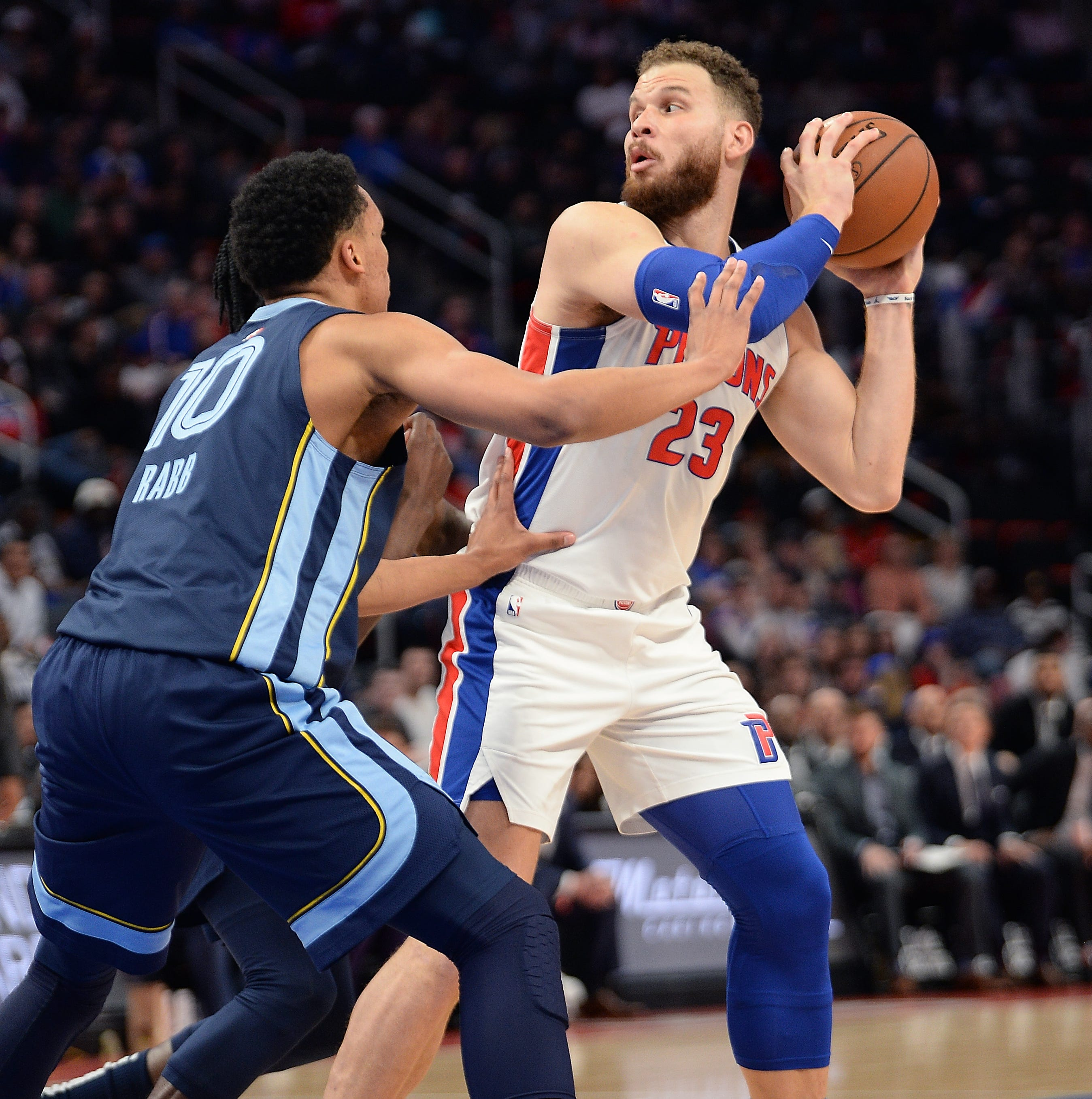 Pistons' Blake Griffin might not play in Wednesday's regular-season finale