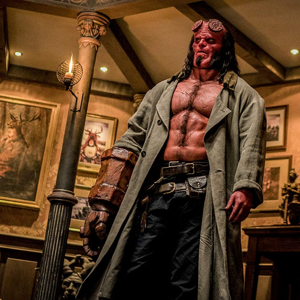 Review: Rebooted 'Hellboy' snuffs original's fire