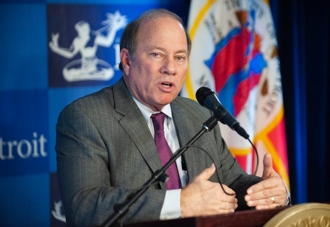 "Duggan spoke Wednesday with The Detroit News at the Detroit Regional Chamber's Mackinac Policy Conference. Asked if he hoped to be the one to execute Detroit's long-term plans, Duggan said, ""I'll leave for the people of Detroit to decide whether to rehire me. I'm certainly not going anywhere else. This will be the last political job I'll ever have."""