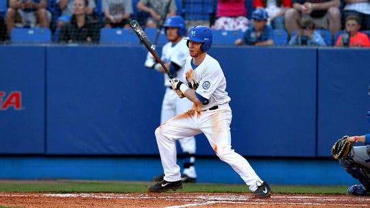 Hank LaRue, who starred for Middle Tennessee State, is a scout for the Miami Marlins