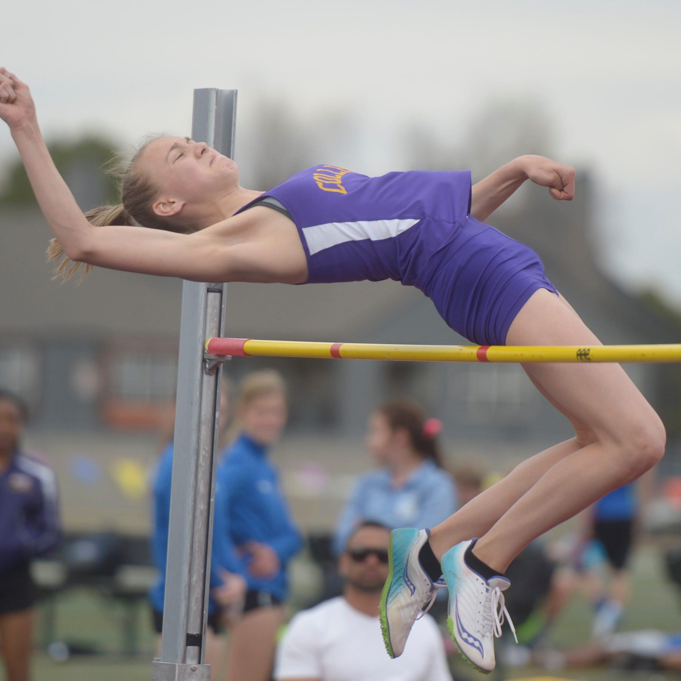 Colorado-leading Fort Collins jumpers balance demands of gymnastics, track