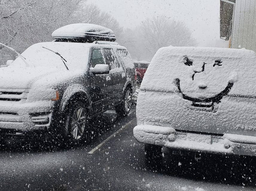 Scenes from the Northern Colorado snowstorm on April 10, 2019.