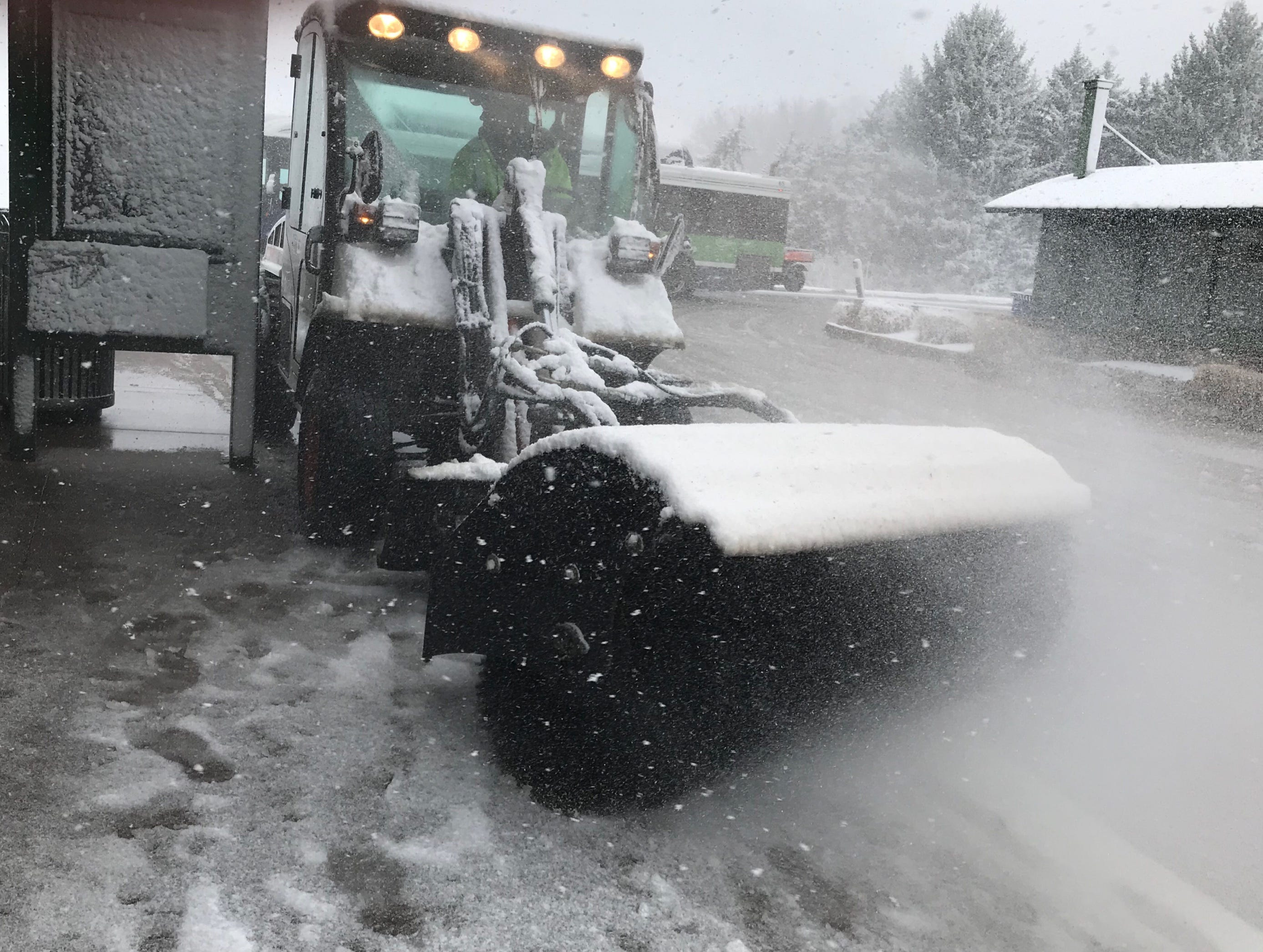 At Colorado State University: Scenes from the April 10, 2019 snowstorm in Fort Collins and Northern Colorado