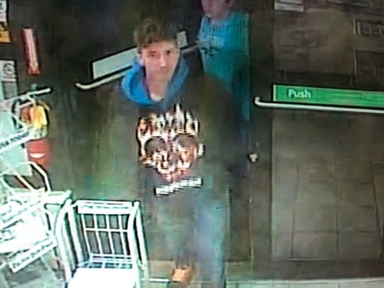 Cape Coral Police say Chandler McGillem is the second suspect in a January SUV theft and burglary. He's show here on surveillance camera at a 7-Eleven.