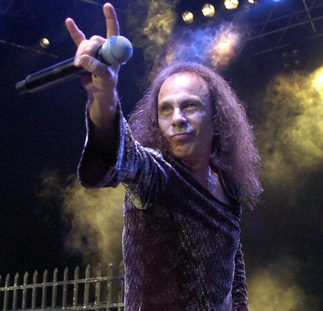 Ronnie James Dio in 2007