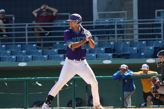 Estero graduate Tommy Joseph has been a dual threat for Florida SouthWestern this season, hitting .273 in the middle of the Bucs' batting order and also appearing in five games on the mound.