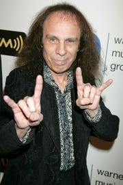 Ronnie James Dio at the 2008 Grammy Awards after party