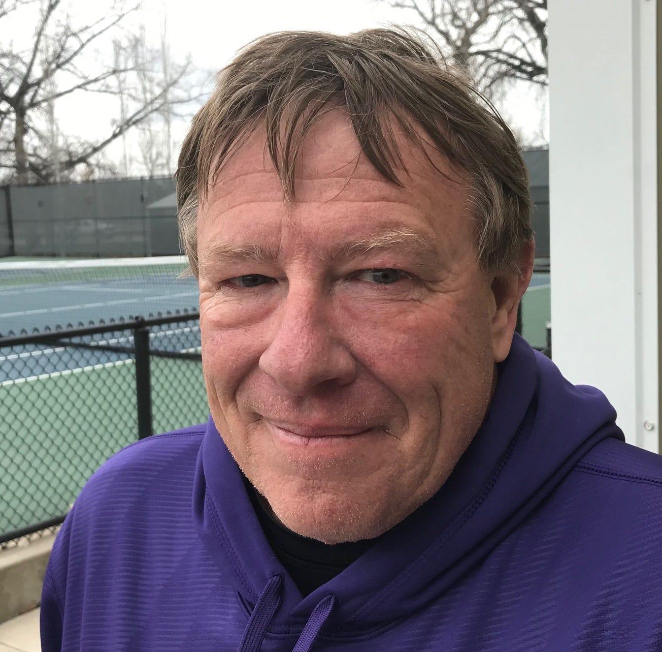 No matter where he's coaching, Schilling bleeds purple and gold