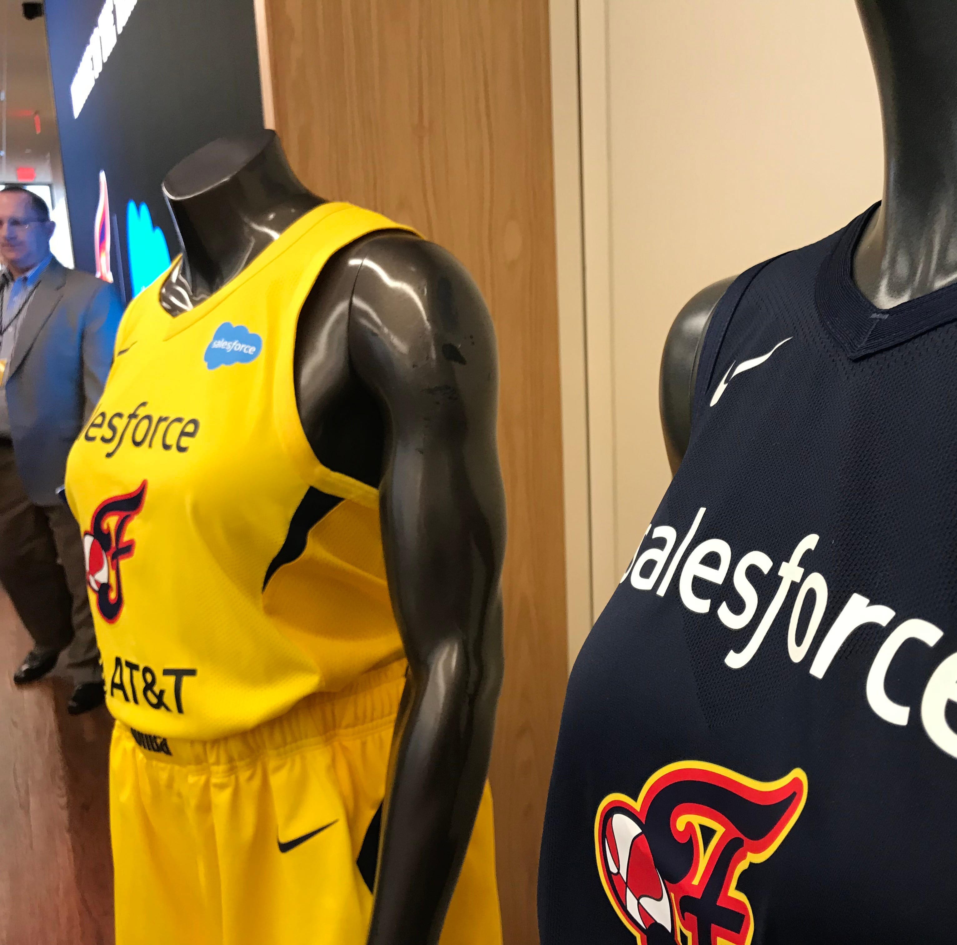 Indiana Fever unveil Salesforce-branded uniforms as part of new partnership