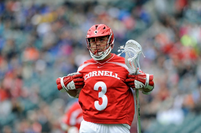 Cornell's Rob Pannell is shown in action during an NCAA division 1 semifinal lacrosse game against Duke on Saturday, May 25, 2013, in Philadelphia.