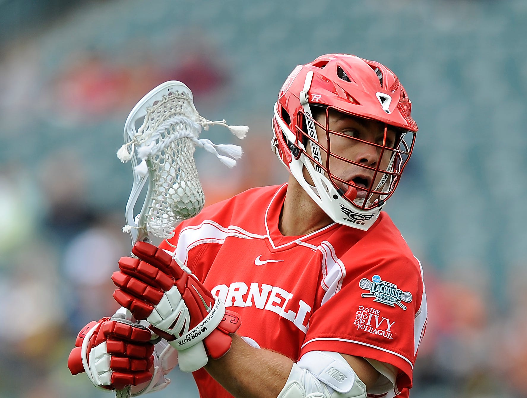 Cornell's Rob Pannell is shown in action during an NCAA division 1 semifinal lacrosse game on Saturday, May 25, 2013, in Philadelphia.
