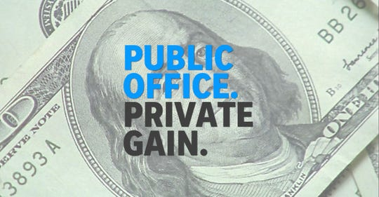 Public Office Private Gain looks at how lawmakers use their offices to leverage gifts, money and more.