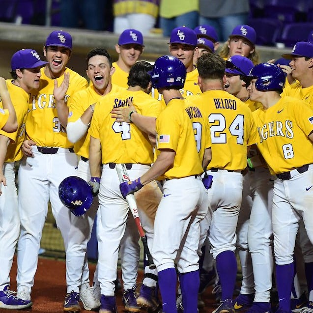 Slumping LSU is in danger of not hosting postseason baseball as it plays at No. 4 Arkansas