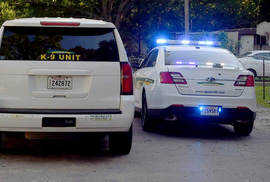 St. Landry Parish Sheriff's deputies investigate the death of a woman Tuesday afternoon on Ranch Road about one half mile east of the Opelousas city limits.