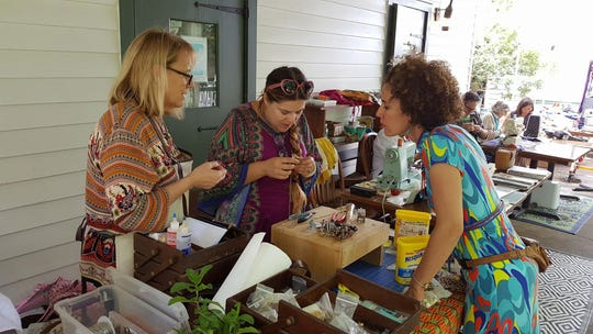 Earth Day at Vermilionville will feature a clothes and jewelry Fix-It Cafe - a way to reduce waste and keep beloved items going for longer.