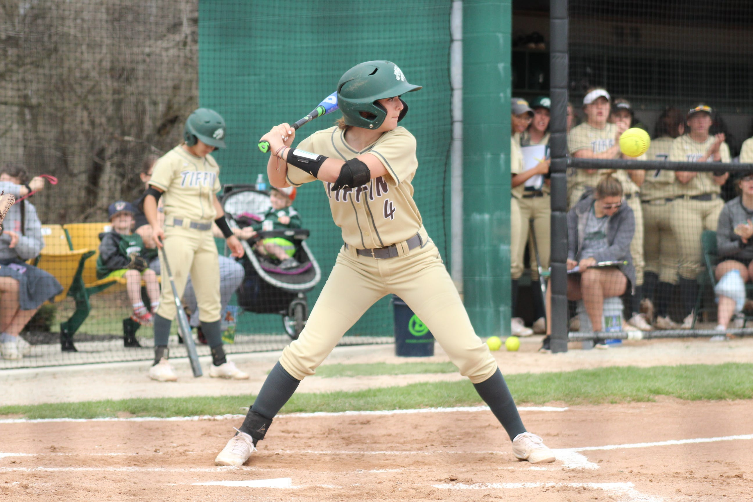 Former Lancaster standout Brooke Lambert and current Tiffin University junior shortstop Brooke Lambert was named the Great Midwest Athletic Conference Player of the Week after she went 11-for-17 to help lead the Dragons to four consecutive wins.