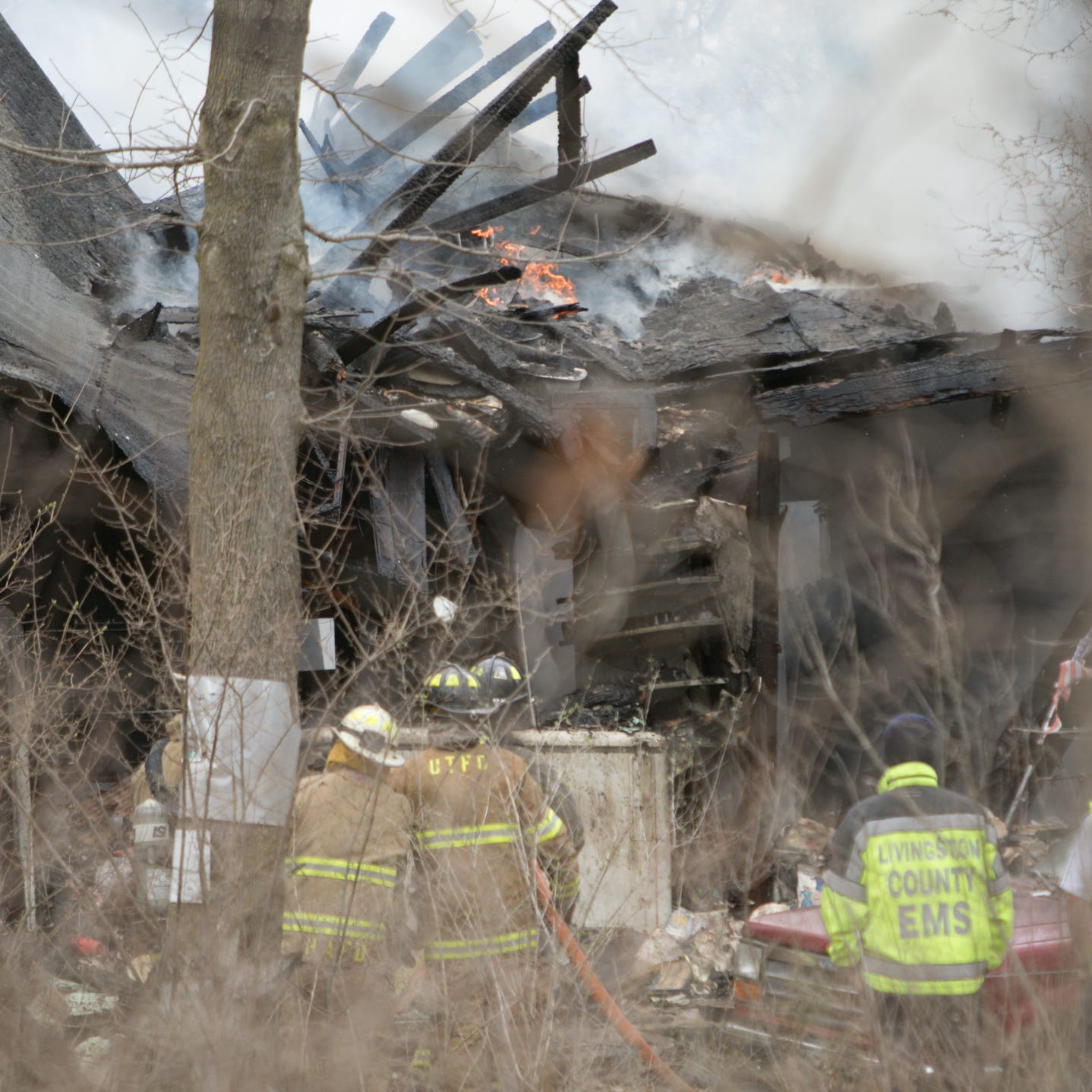 Putnam Township home destroyed in fire late Wednesday afternoon