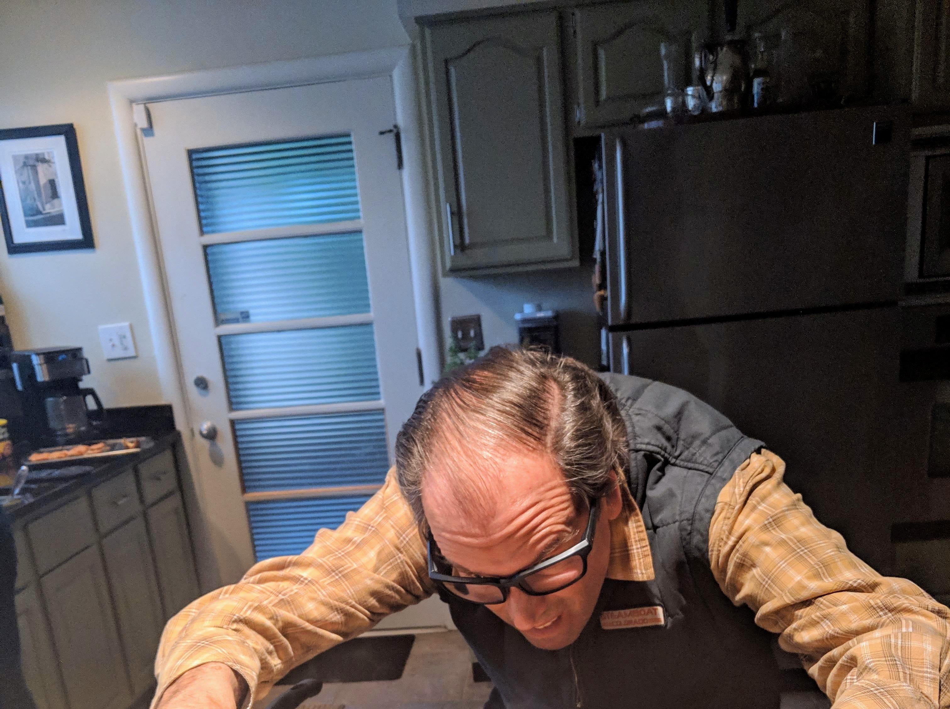 Restaurateur Anthony Dike of Bistro Le Relais cooks his fondue bourguignon.