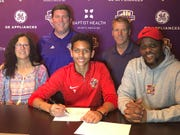 Louisville City FC inked 16-year-old Elijah Wynder as its first Academy player on Wednesday.