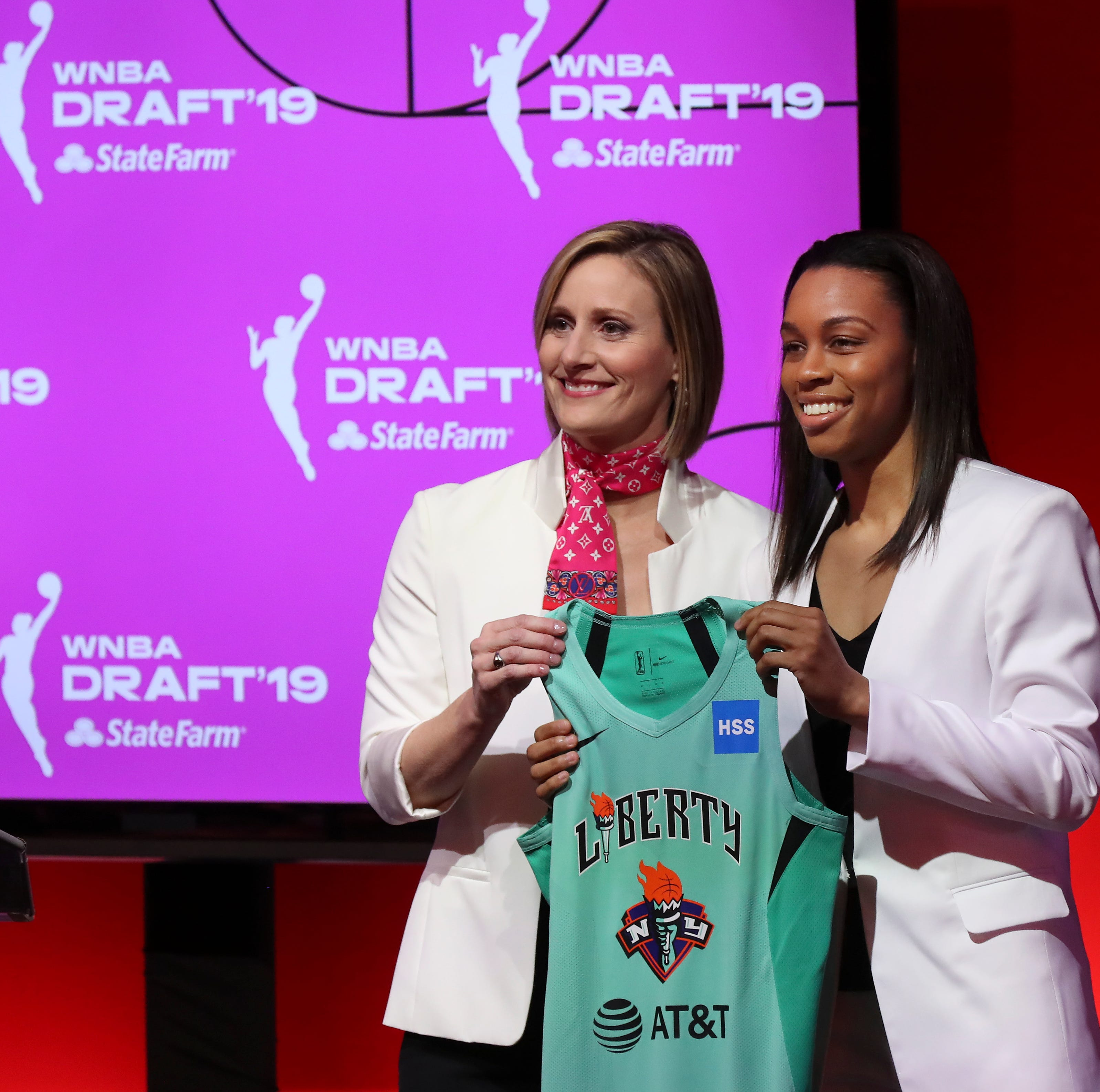 Louisville's Asia Durr selected No. 2 in WNBA draft by New York Liberty