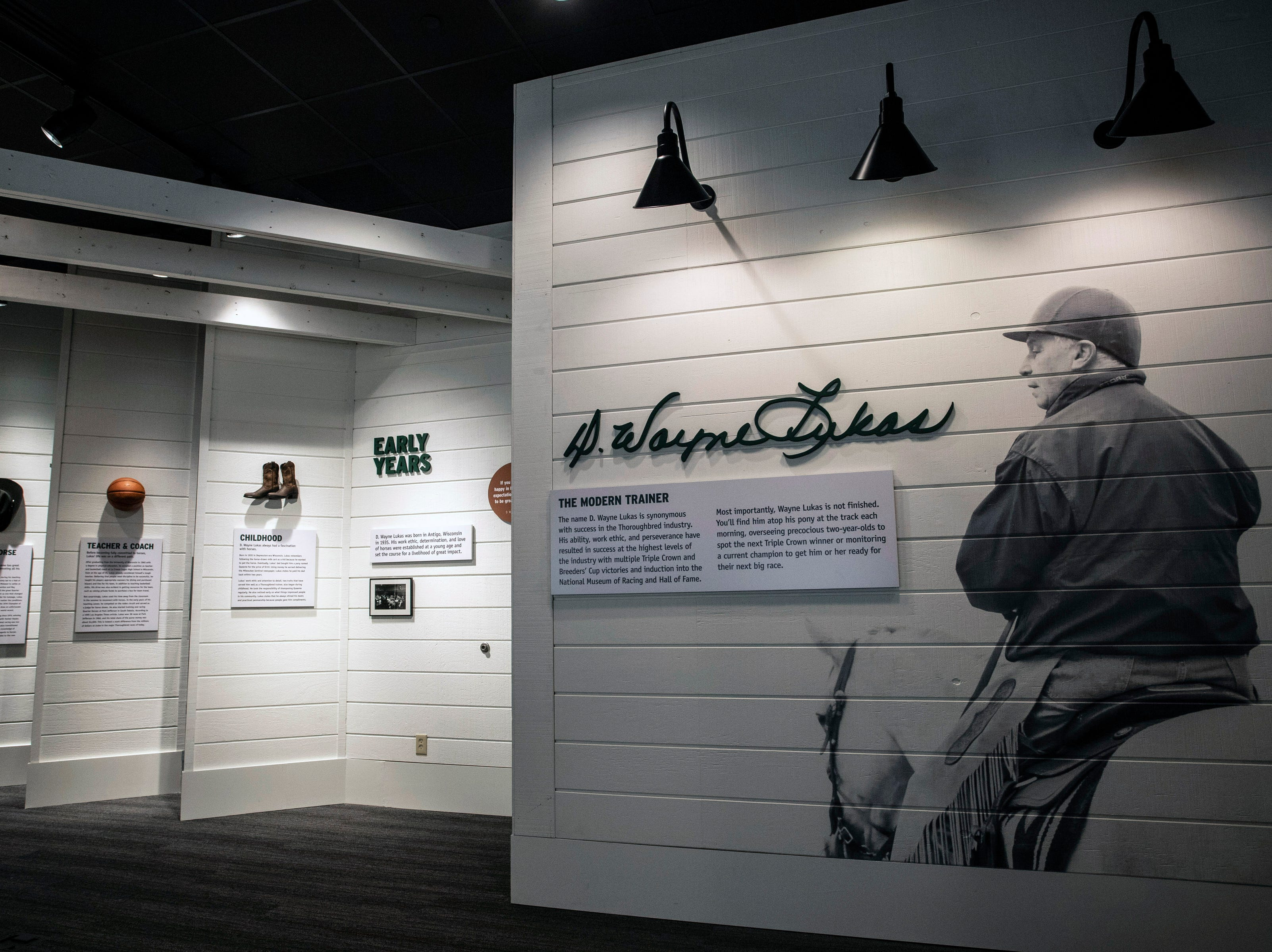 A new D. Wayne Lucas exhibit at the Kentucky Derby Museum showcases the legendary trainer's amazing career. 3/26/19