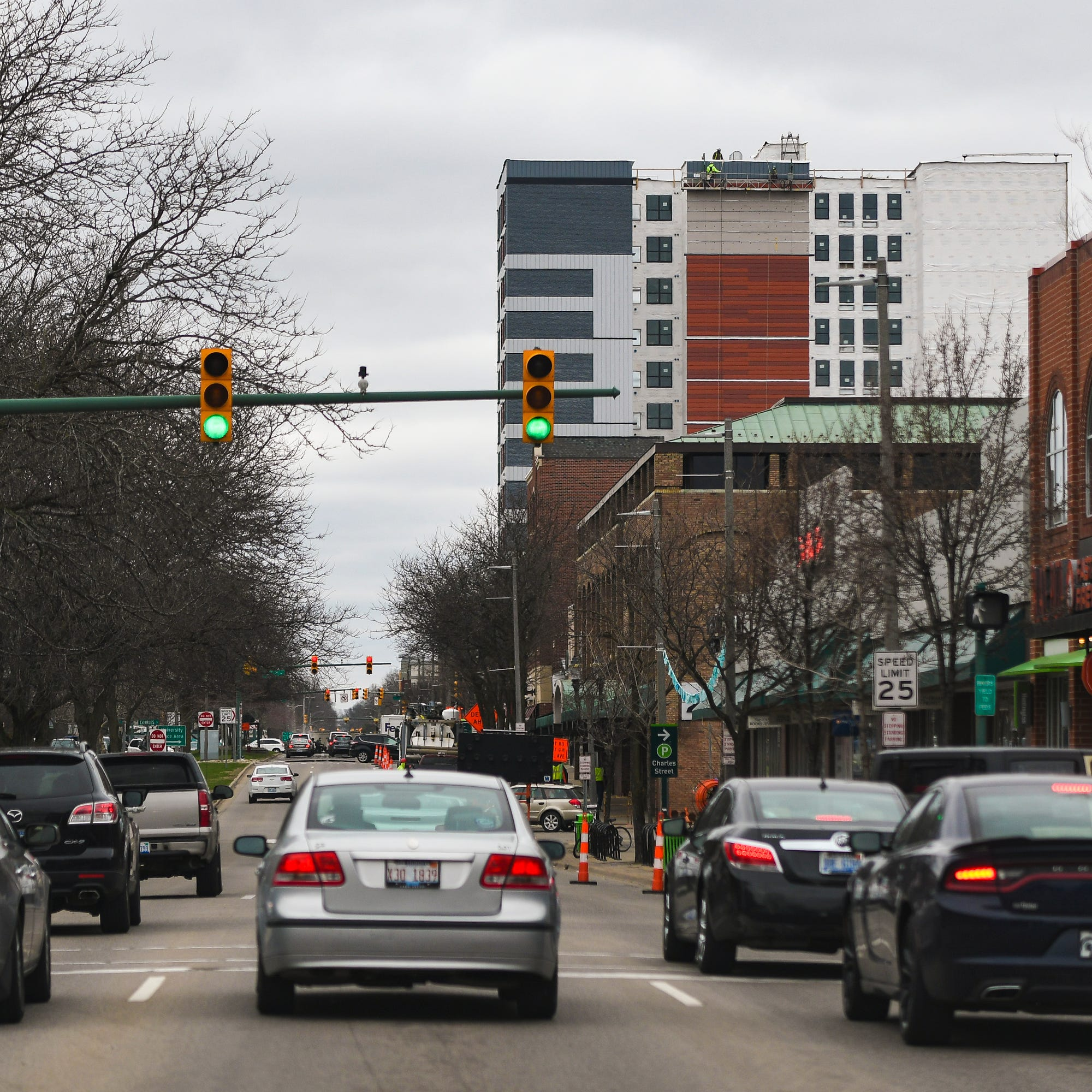 How tall is too tall for downtown East Lansing?