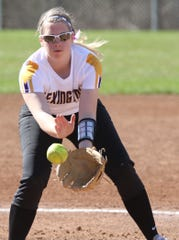 Lexington sophomore Jillian Bammann returns to the Lady Lex as the team's pitcher and best hitter.