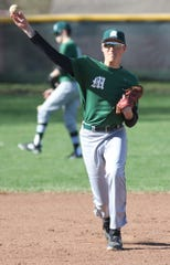 MAdison's Ryan Chapman tossed a gem of a ballgame in a win over Vermilion helping the Rams to the No. 7 spot in the Richland County Baseball Power Poll.